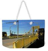 Pittsburgh - Roberto Clemente Bridge Weekender Tote Bag