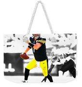 Pittsburgh Steelers Ben Roethlisberger Weekender Tote Bag
