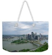 Pittsburgh - View Of The Three Rivers Weekender Tote Bag