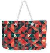 Pixel Art Poster Weekender Tote Bag