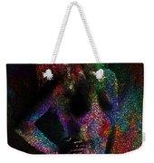 Pixel Girl Weekender Tote Bag