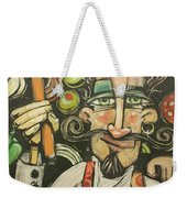 Pizza Chef Quickfire Weekender Tote Bag