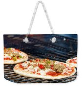Pizza On The Grill Weekender Tote Bag
