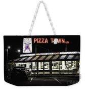Pizza Town Weekender Tote Bag
