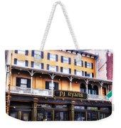 Pj Ryans Irish Pub Weekender Tote Bag