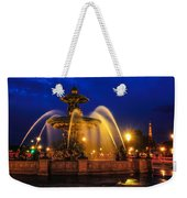 Place De La Concorde Weekender Tote Bag by Midori Chan