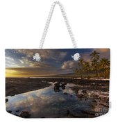 Place Of Refuge Sunset Reflection Weekender Tote Bag