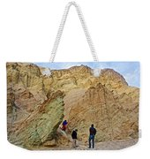 Places To Climb In Golden Canyon In Death Valley National Park-california Weekender Tote Bag