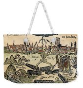 Plague Of London, 1665 Weekender Tote Bag