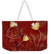 Plain Flowers Pop Art Weekender Tote Bag