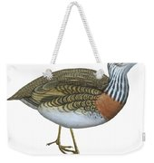 Plains Wanderer  Weekender Tote Bag by Anonymous