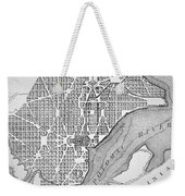 Plan Of The City Of Washington As Originally Laid Out In 1793 Weekender Tote Bag
