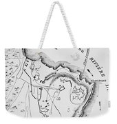 Plan Of West Point Weekender Tote Bag by French School