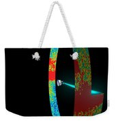 Planck Space Observatory Scanning Weekender Tote Bag