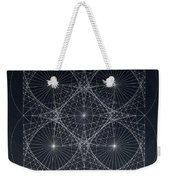 Plancks Blackhole Weekender Tote Bag by Jason Padgett