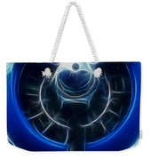 Plane Blue Prop Weekender Tote Bag by Paul Ward