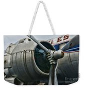 Plane Check Your Engine Weekender Tote Bag