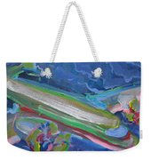 Plane Colorful Weekender Tote Bag