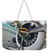 Plane First Class Weekender Tote Bag by Paul Ward