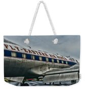 Plane Fly Eastern Air Lines Weekender Tote Bag