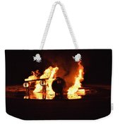 Plane Heats Up Weekender Tote Bag