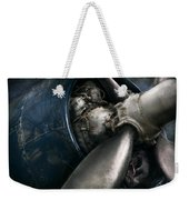 Plane - Pilot - Prop - You Are Clear To Go Weekender Tote Bag by Mike Savad