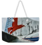 Plane Tail Wing Eastern Air Lines Weekender Tote Bag