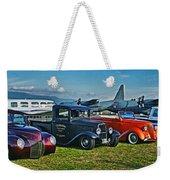 Planes And Cars Weekender Tote Bag