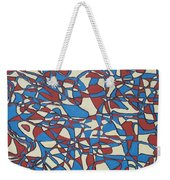 Planet Abstract Weekender Tote Bag