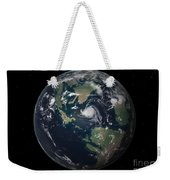 Planet Earth 90 Million Years Ago Weekender Tote Bag by Walter Myers