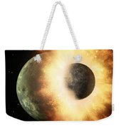 Planetary Demolition Derby  Weekender Tote Bag