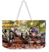Planetary Invasion Weekender Tote Bag