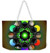 Planetary Metatron Zodiac Weekender Tote Bag