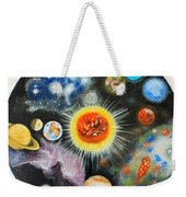 Planets And Nebulae In A Day Weekender Tote Bag