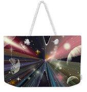 Planets Dancing Weekender Tote Bag