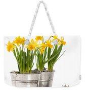 Planting Bulbs Weekender Tote Bag