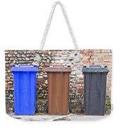 Plastic Bins Weekender Tote Bag