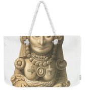 Plate From Ancient Monuments Of Mexico Weekender Tote Bag
