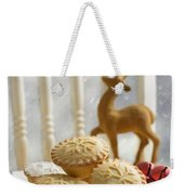 Plate Of Mince Pies Weekender Tote Bag