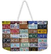 Plates Weekender Tote Bag