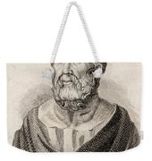 Plato From Crabbes Historical Dictionary Weekender Tote Bag