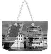 Platt Street Bridge Opening Weekender Tote Bag by David Lee Thompson