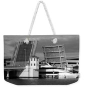Platt Street Bridge Up Weekender Tote Bag