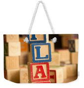 Play - Alphabet Blocks Weekender Tote Bag