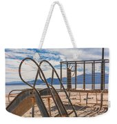 Play Time Is Over Slide Playground Weekender Tote Bag