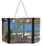 Playa Blanca Restaurant Bar Area Punta Cana Dominican Republic Weekender Tote Bag
