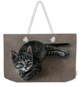 Playful Kitten Weekender Tote Bag