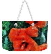 Playful Poppies 5 Weekender Tote Bag