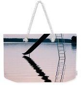 Playground Slide In Lake Weekender Tote Bag