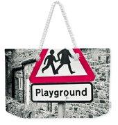 Playground Weekender Tote Bag